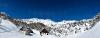 Lipanska planina in Mrežce nad njo