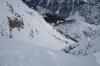 Pogled iz grebena na Vršič