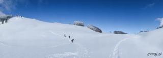 Vzpon proti Ptičjemu vrhu