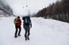 Prvi koraki v snegu