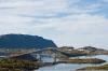 Rainbow bridge na Lofotih