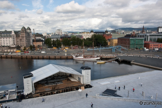 Pred opero in Oslo