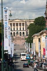 Pogled po ulici Karl Johans gate