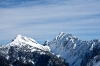 Hjanževo sedlo, Košutica in greben Košute