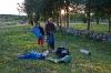 Jutranje pospravljanje šotora