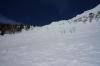Pogled proti vrhu grebena
